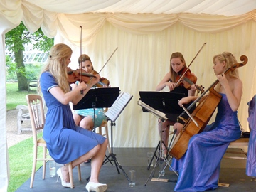 Wedding String Quartet Hire